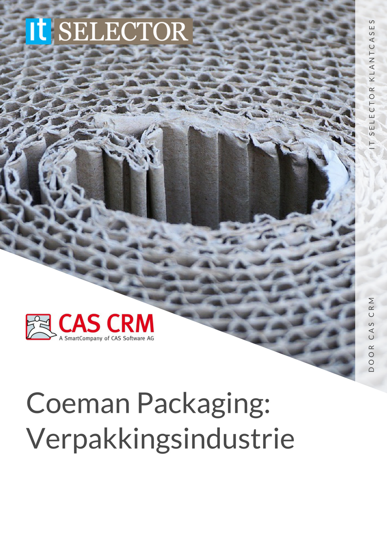 itselector klantcase it selector coemann packaging cas crm