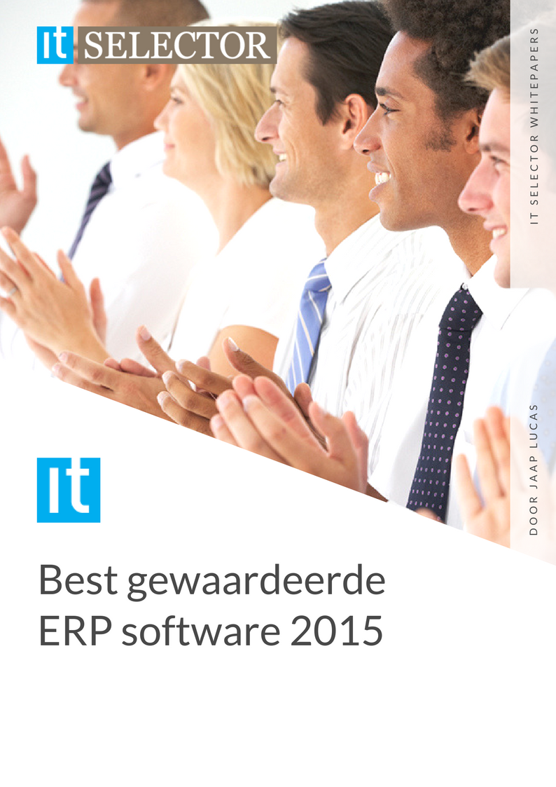 Whitepaper IT Selector - Beste gewaardeerde ERP software