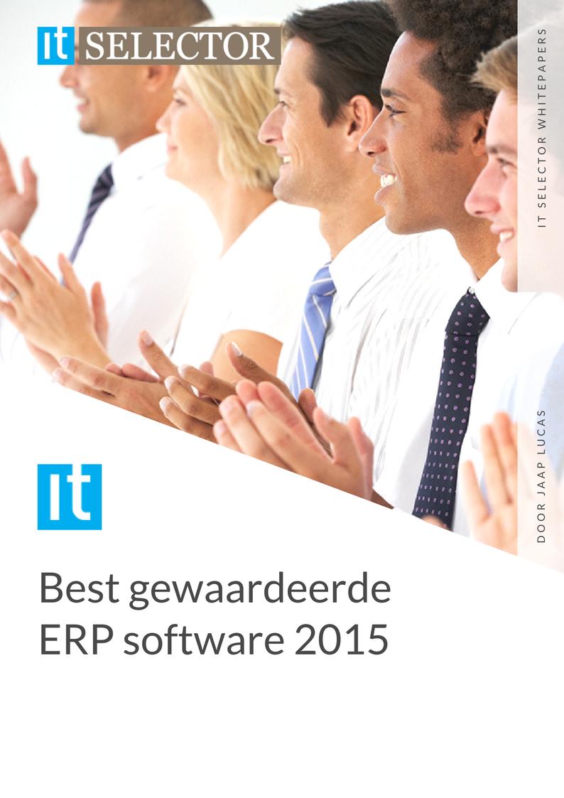Whitepaper IT Selector - Beste gewaardeerde ERP software