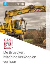 Klantcase De Bruycker - CAS CRM - IT Selector