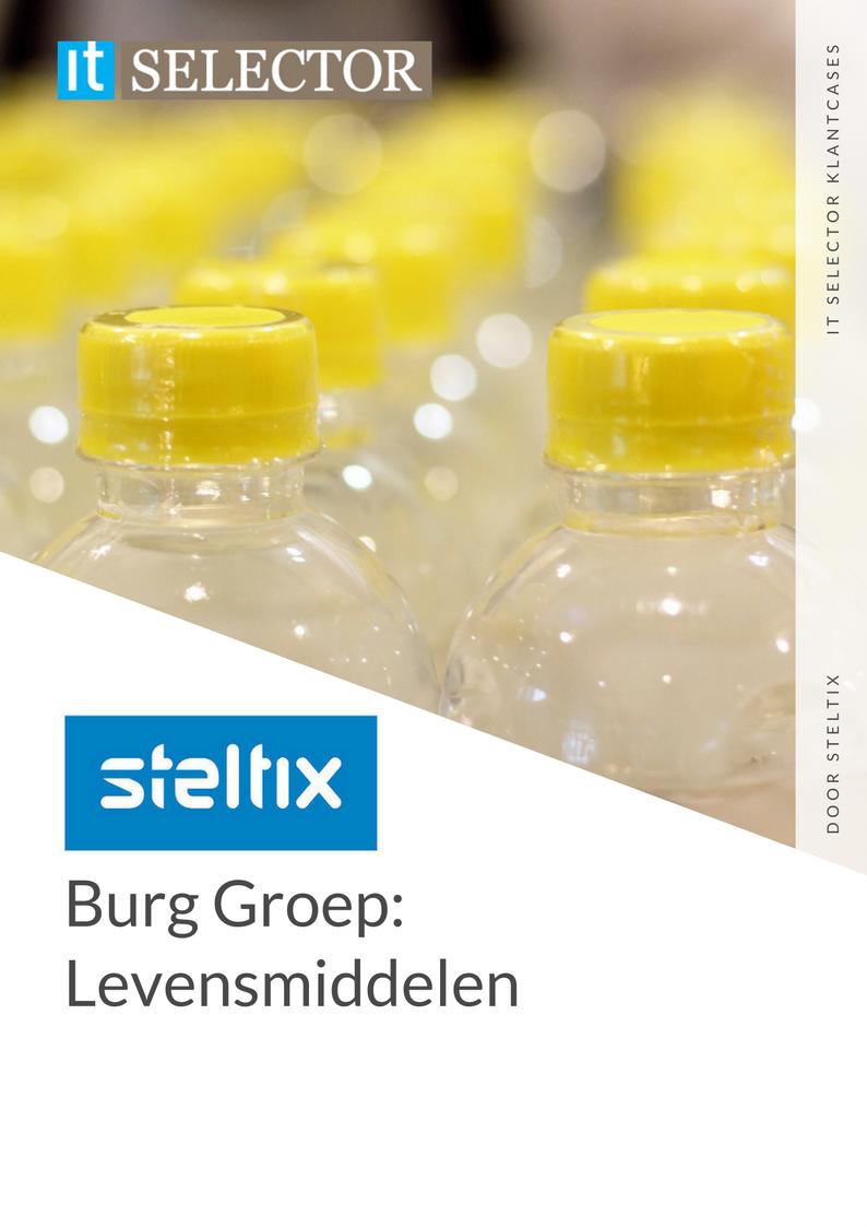 Klantcase Steltix Burg Groep - IT Selector