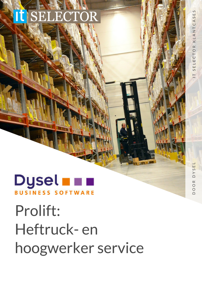 Klantcase Dysel Prolift - IT Selector