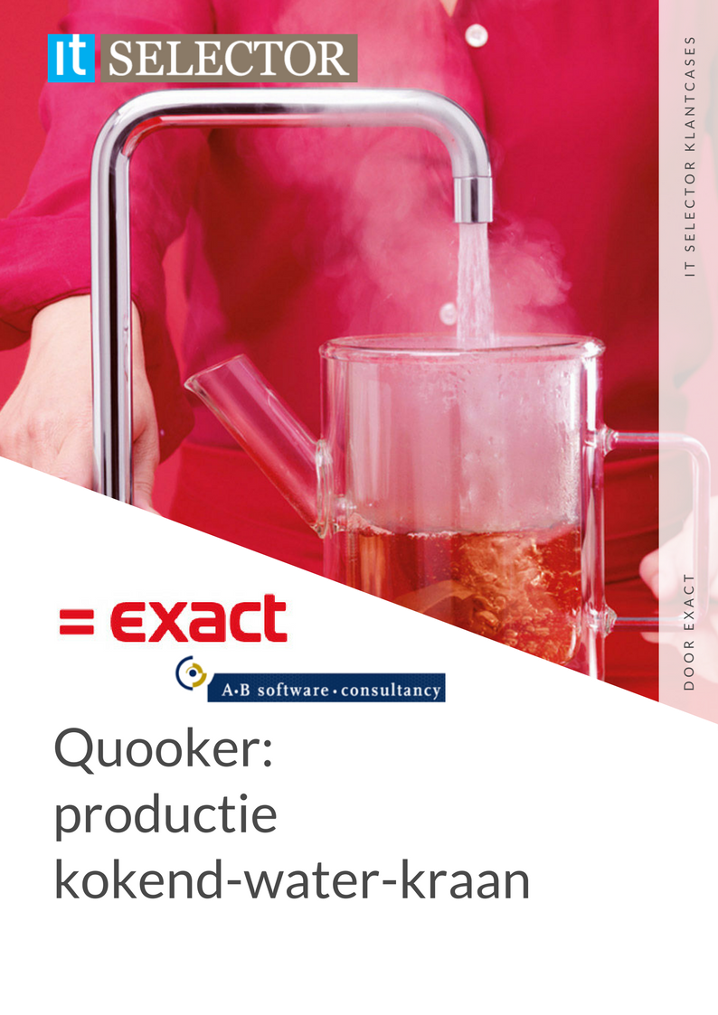Klantcase Quooker Exact AB Software - IT Selector