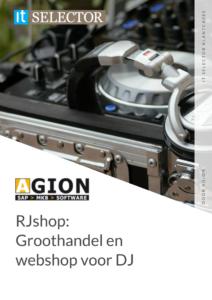 Klantcase Agion RJshop - IT Selector