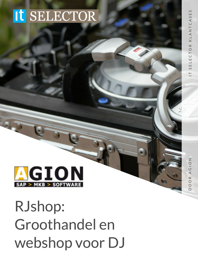 Klantcase Agion RJshop - IT Selector