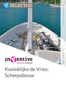Klantcase Inventive Koninklijke de Vries - IT Selector