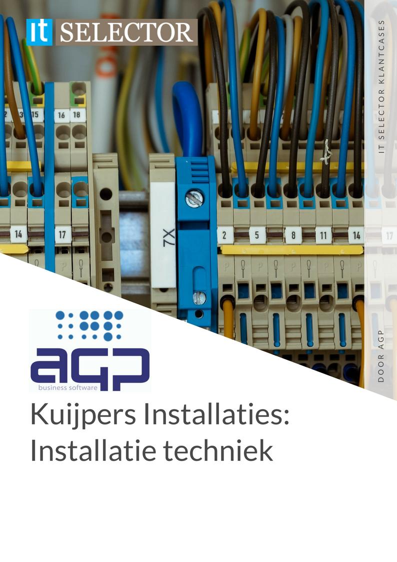 Klantcase AGP Kuijpers Installatietechniek - IT Selector