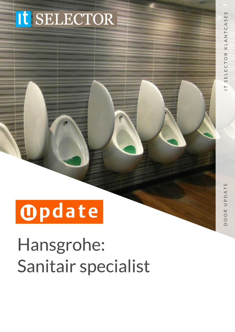 Klantcase Hansgrohe Update IT Selector