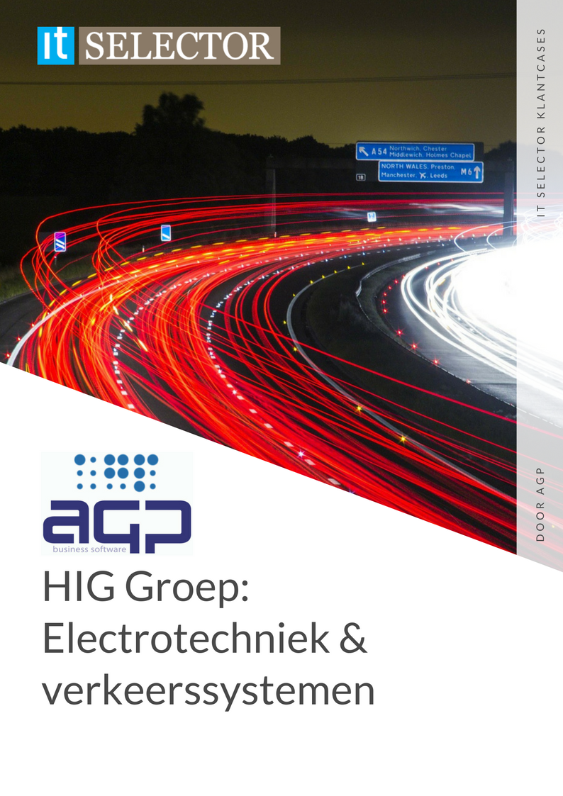 Klantcase ERP leverancier AGP HIG groep - IT Selector