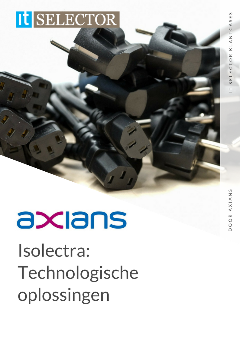 Klantcase Axians Isolectra - IT Selector