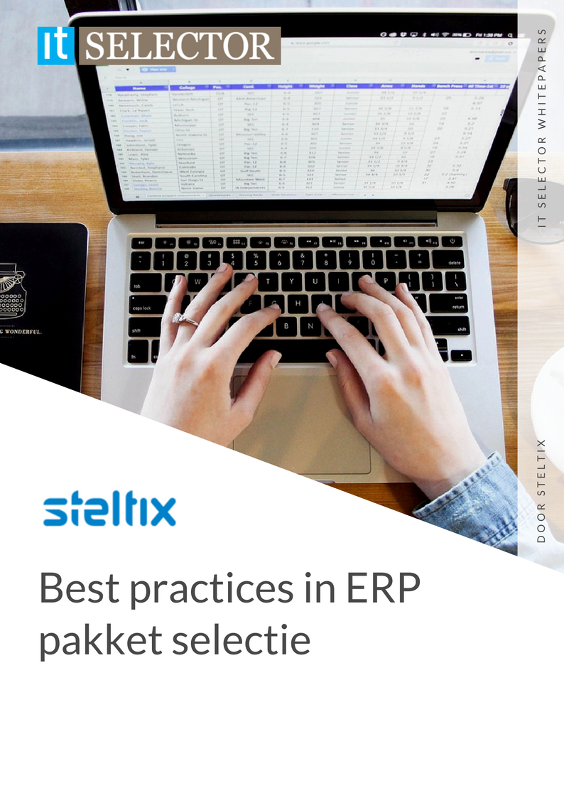 Whitepaper Steltix Best practices in ERP pakket selectie - IT Selector