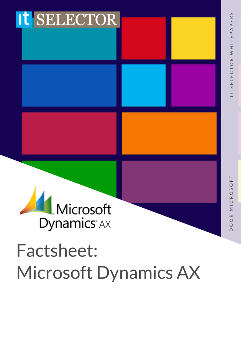 Whitepaper Factsheet: Microsoft Dynamics AX - IT Selector