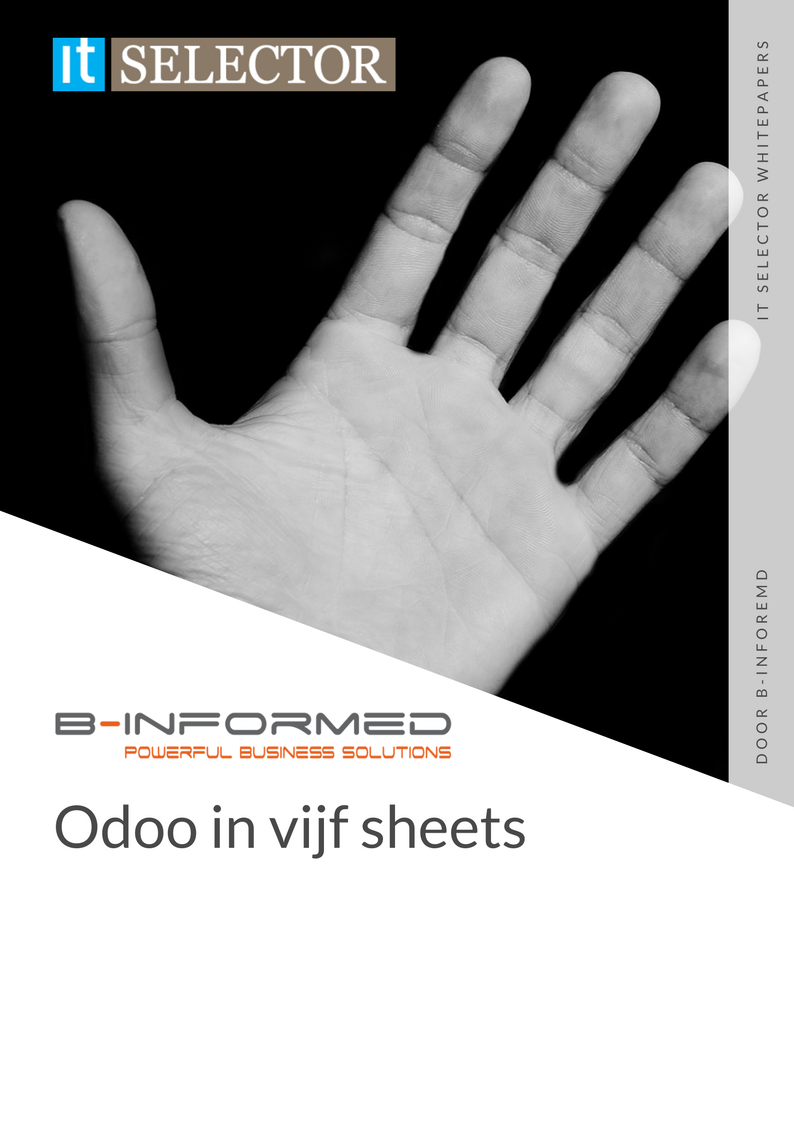 Whitepaper b-informed Odoo in 5 sheets - IT Selector