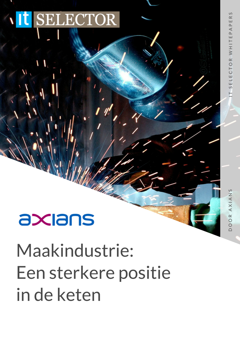 Whitepaper axians Maakindustrie - IT Selector