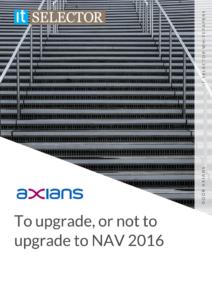 Whitepaper Axians upgrade to NAV 2016 - IT Selector