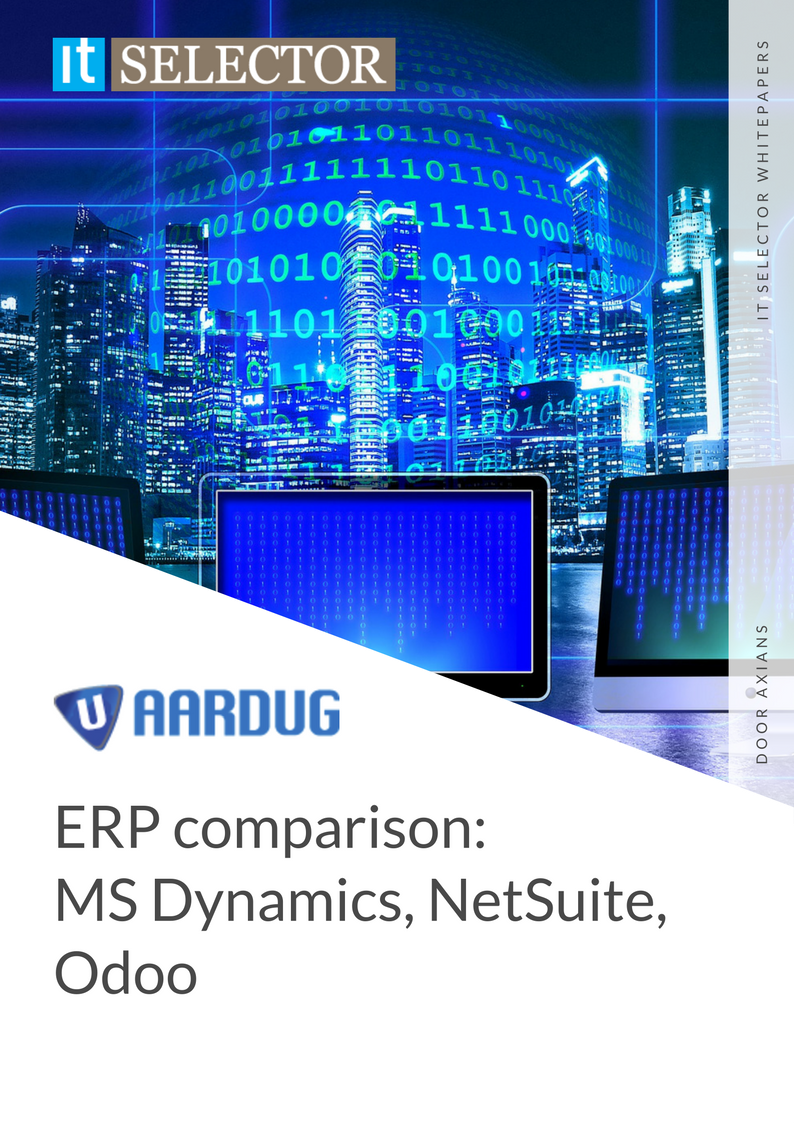 Whitepaper ERP comparison Aardug - IT Selector
