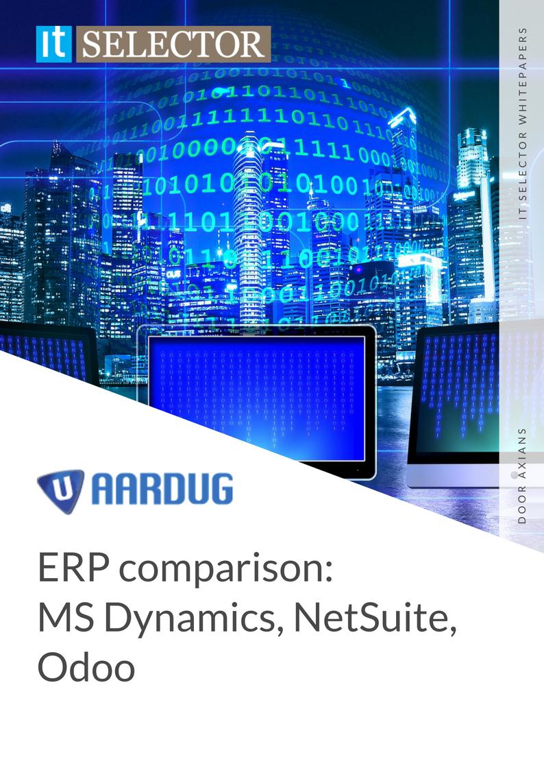Whitepaper ERP comparison Aardug - IT Selector