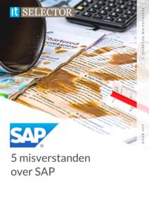 Whitepaper 5 misverstanden over SAP - IT Selector