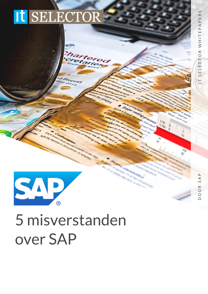 Whitepaper 5 misverstanden over SAP - IT Selector