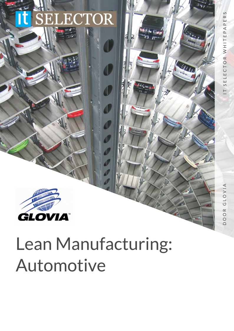 Whitepaper lean Manufacturing Glovia - IT Selector