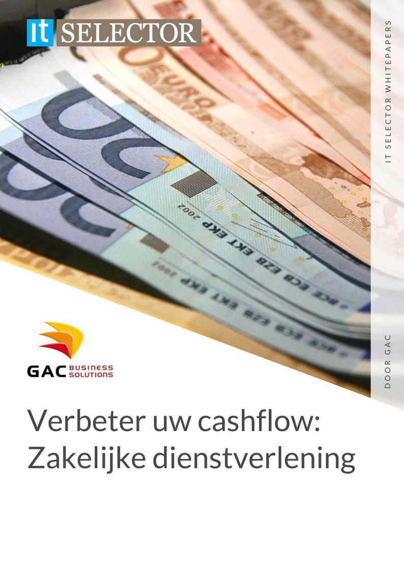 Whitepaper GAC Verbeter uw cashflow: Zakelijke dienstverlening - IT Selector