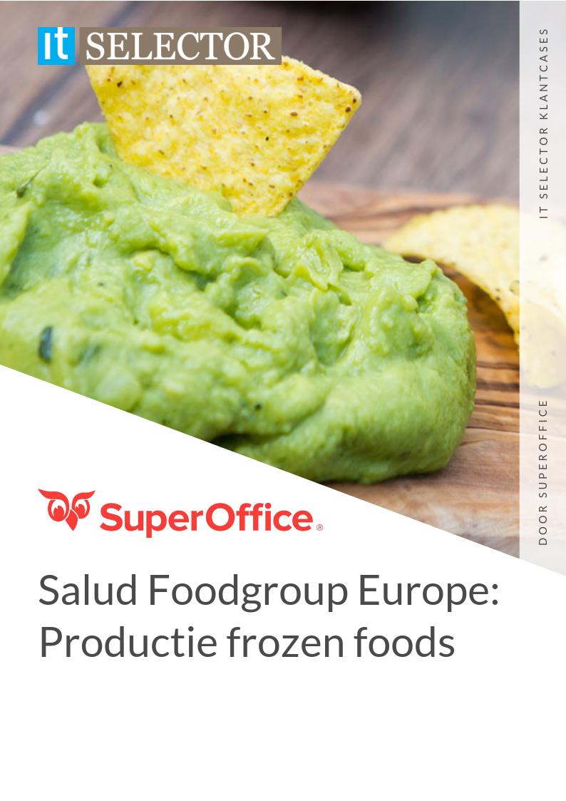 klantcase salud foodgroup europe superoffice