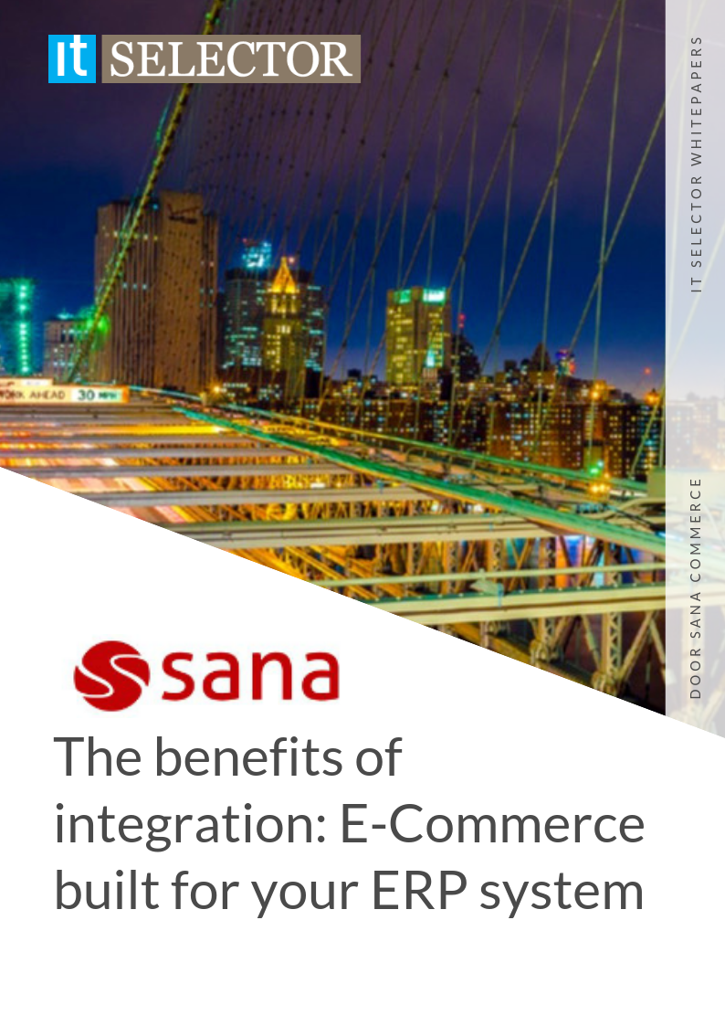 whitepaper itselector sana commerce integration e-commerce