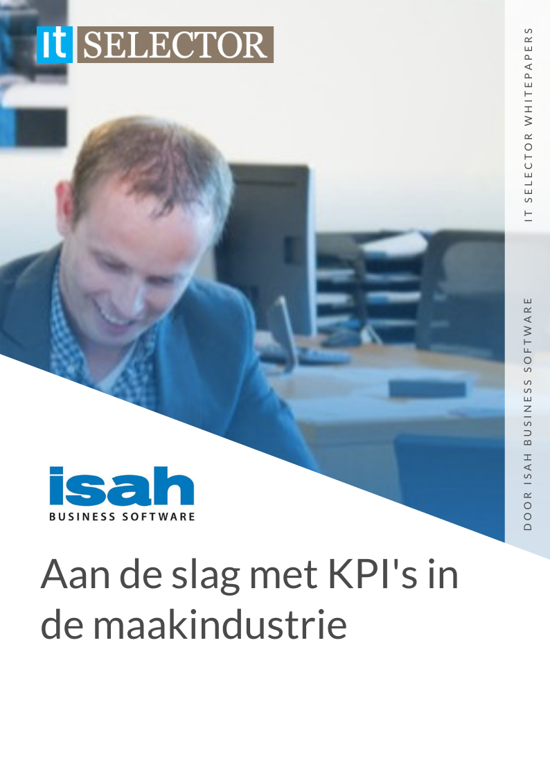 whitepaper kpi maakindustrie isah business software it selector