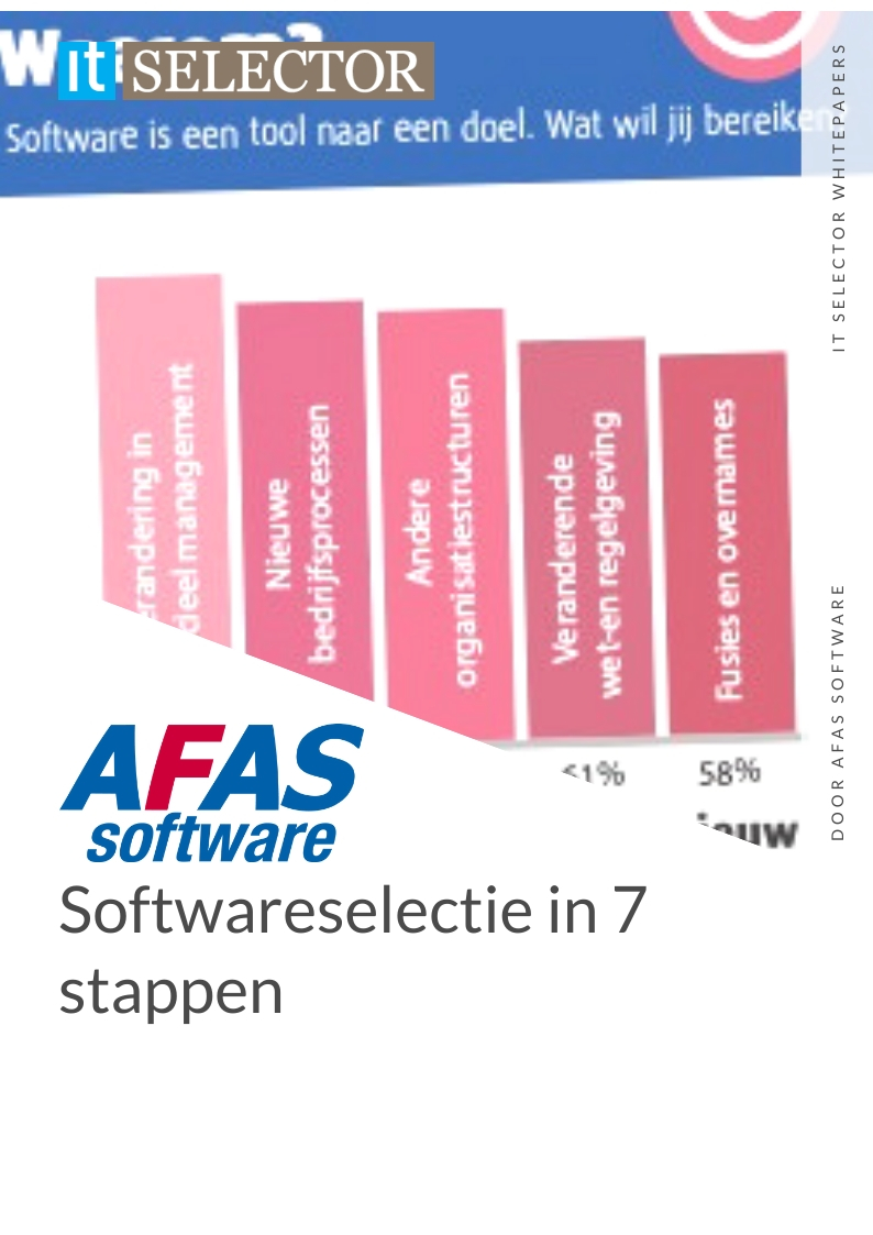 whitepaper softwareselectie afas software