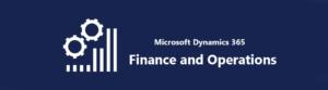 Logo ERP Leverancier Microsoft Dynamics 365 Finance & Operations