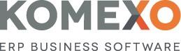 Logo ERP leverancier Komexo